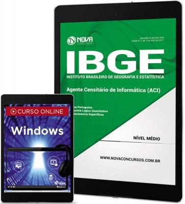 Download Apostila IBGE Pdf - Agente Censitário de Informática