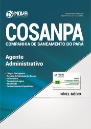 Apostila COSANPA PA - Agente Administrativo