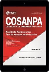 Download Apostila COSANPA PA PDF - Assistente Administrativo - Área: Administrativa