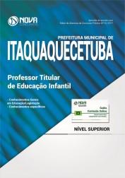 Apostila Pref. de Itaquaquecetuba - Professor Titular Educação Infantil
