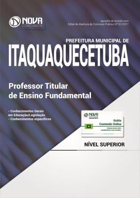 Apostila Pref. de Itaquaquecetuba SP - Prof. Titular Ensino Fundamental