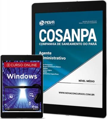 Download Apostila COSANPA PA PDF - Agente Administrativo