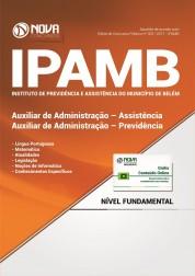 Apostila IPAMB-PA - Auxiliar de Administração: Assistência/Previdência