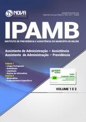 Apostila IPAMB-PA - Assistente de Administração: Assistência/Previdência