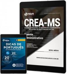 Download Apostila CREA-MS Pdf - Agente Administrativo