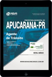 Download Apostila Prefeitura de Apucarana PR Pdf - Agente de Trânsito