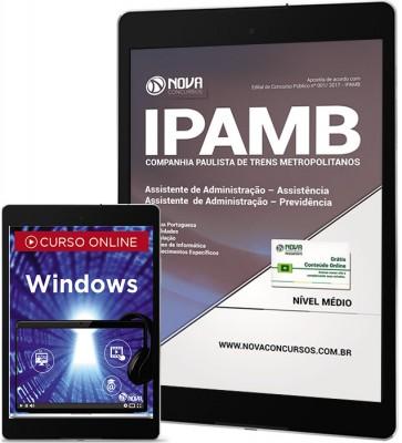 Download Apostila IPAMB-PA Pdf - Assistente de Administração: Assistência/Previdência