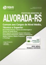 Apostila Pref. de Alvorada - RS - Comum a todos os cargos Médio, Técnico e Superior