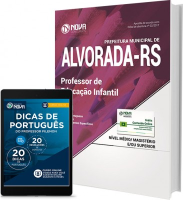 Apostila Pref. de Alvorada - RS - Professor de Educação Infantil