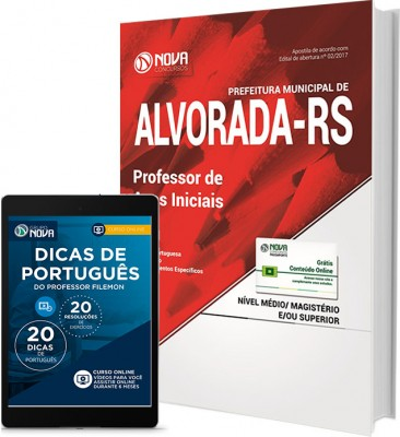 Apostila Pref. de Alvorada - RS - Professor anos iniciais