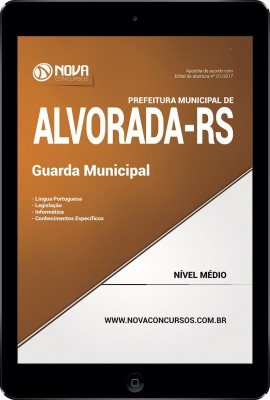 Download Apostila Pref. de Alvorada - RS Pdf - Guarda Municipal
