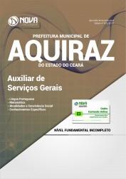 Apostila Prefeitura de Aquiraz - CE - Auxiliar de Serviços Gerais