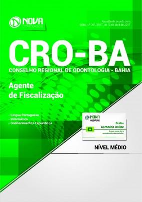 Apostila CRO-BA - Agente de Fiscalização