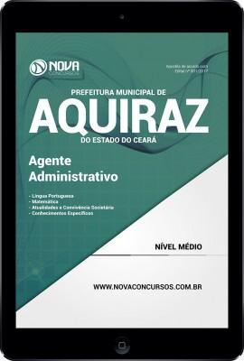 Download Apostila Prefeitura de Aquiraz - CE Pdf - Agente Administrativo