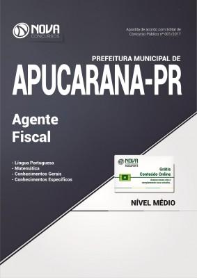 Apostila Pref. de Apucarana-PR - Agente Fiscal