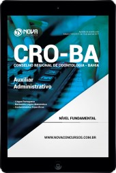 Download Apostila CRO-BA Pdf - Auxiliar Administrativo