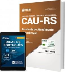 Apostila CAU-RS - Assistente de Atendimento e Fiscalização