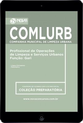 Download Apostila COMLURB RJ Pdf - Profissional de Op. de Limpeza e Serv. Urbanos / Gari
