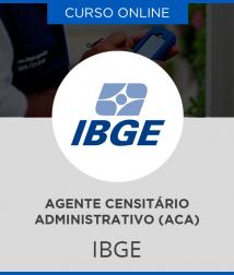 Combo IBGE - Apostila + Curso Online para Agente Censitário Administrativo