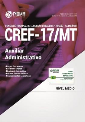 Apostila CREF-17/MT - Auxiliar Administrativo
