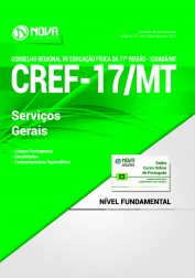 Apostila CREF-17/MT - Serviços Gerais