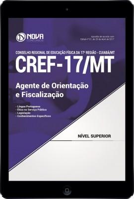 Download Apostila CREF-17/MT Pdf - Agente de Orientação e Fiscalização