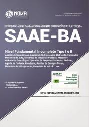 Apostila SAAE Juazeiro BA - Nível Fundamental Incompleto Tipo I e II