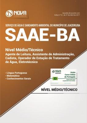 Apostila SAAE Juazeiro BA - Cargos de Nível Médio e Técnico