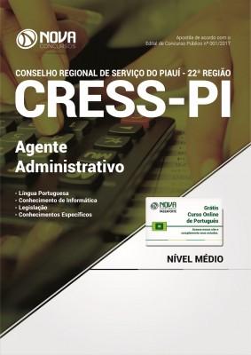 Apostila CRESS-PI - Agente Administrativo