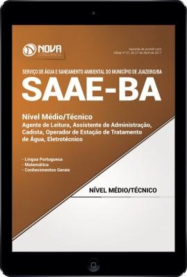 Download Apostila SAAE Juazeiro BA Pdf - Cargos de Nível Médio e Técnico