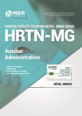 Apostila HRTN - MG - Auxiliar Administrativo