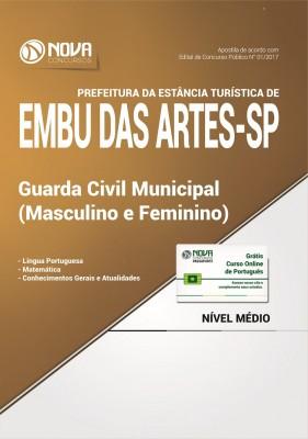 Apostila Prefeitura de Embu das Artes - SP - Guarda Civil Municipal