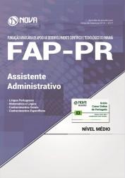 Apostila FAP-PR - Assistente Administrativo