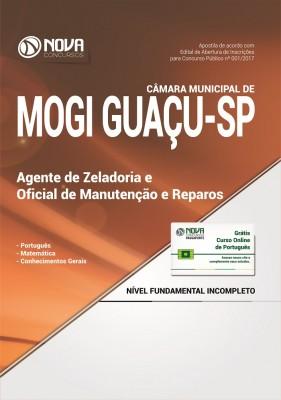 Apostila Câmara Municipal de Mogi Guaçu - SP - Agente de Zeladoria e Oficial de Reparos de Manutenção
