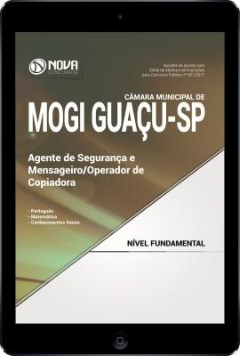 Download Apostila Câmara Municipal de Mogi Guaçu - SP Pdf – Agente de Segurança e Mensageiro / Operador de Copiadora