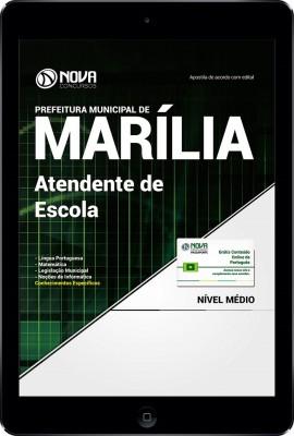 Download Apostila Prefeitura de Marília - SP PDF - Atendente de Escola