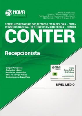 Apostila CONTER e CRTRs - Recepcionista