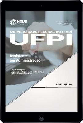 Download Apostila UFPI Pdf - Assistente em Administração