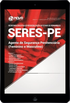 Download Apostila AGEPEN-PE Pdf - Agente de Segurança Penitenciária