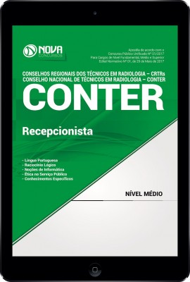 Download Apostila CONTER e CRTRs Pdf - Recepcionista