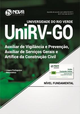 Apostila UniVR-GO - Aux. de Vigilância e Prevenção, Aux. de Serv. Gerais e Artífice da Construção Civil