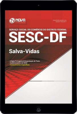 Download Apostila SESC-DF Pdf - Salva-Vidas
