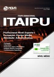 Apostila ITAIPU - Profissional Nível Suporte I - Atividade: Administrativa