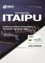Apostila ITAIPU - Profissional de Nível Superior Jr - Formação: Administração