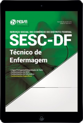 Download Apostila SESC-DF Pdf - Técnico de enfermagem