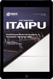 Download Apostila ITAIPU Pdf - Profissional de Nível Superior Jr - Formação: Administração