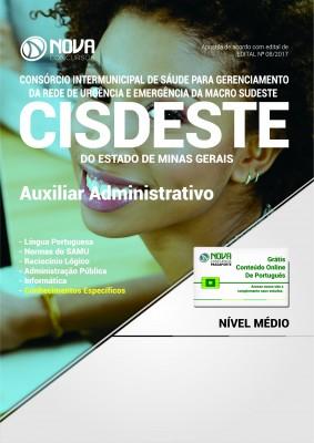 Apostila SAMU MG (CISDESTE) - Auxiliar Administrativo