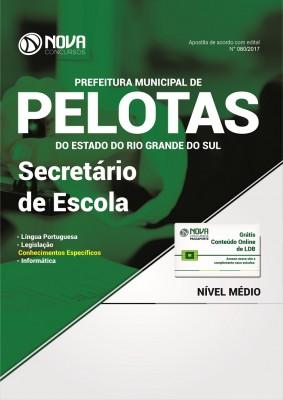Apostila Prefeitura de Pelotas-RS - Secretário de Escola
