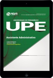 Download Apostila UPE 2017 Pdf - Assistente Administrativo