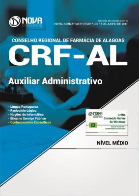 Apostila CRF-AL - Auxiliar Administrativo